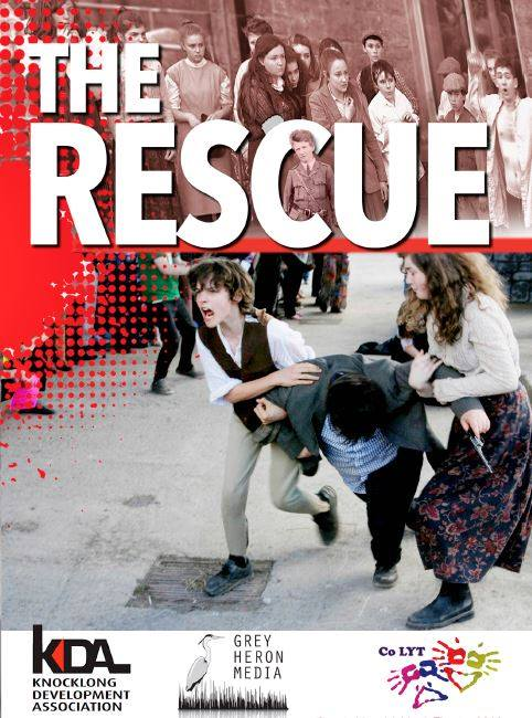 The cover of The Rescue DVD, designed by Alice Brennan
